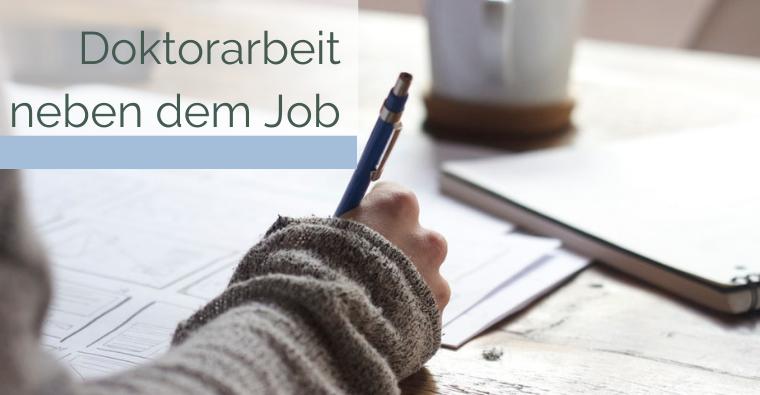 Doktorarbeit neben dem Job – So viel Arbeit, so wenig Zeit